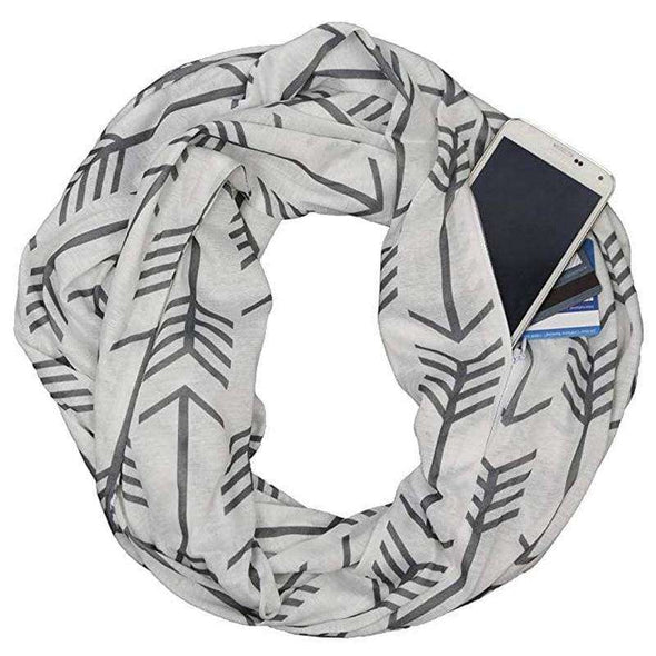 Secret Pocket Scarf - Love Travel Share