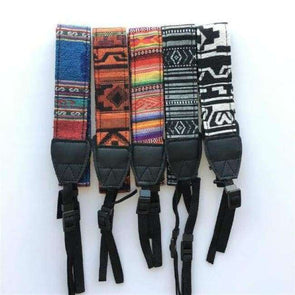 Vintage Style Camera Strap - Love Travel Share