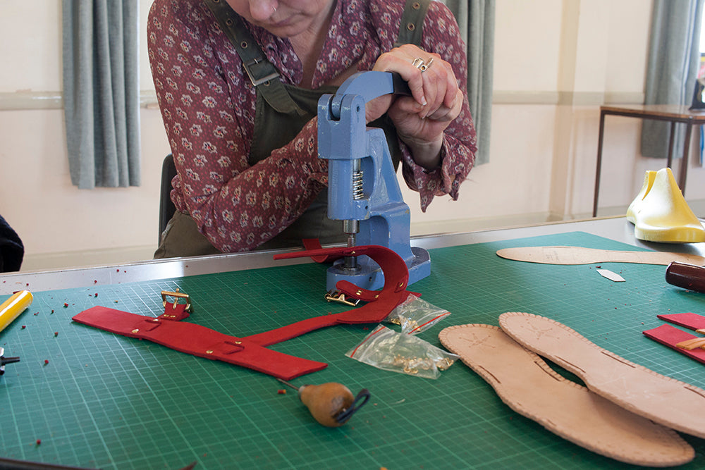 3 Strap Sandal Making - 1 Day Course