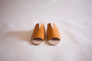 Rowan Sandal - Ochre - SAMPLE SALE
