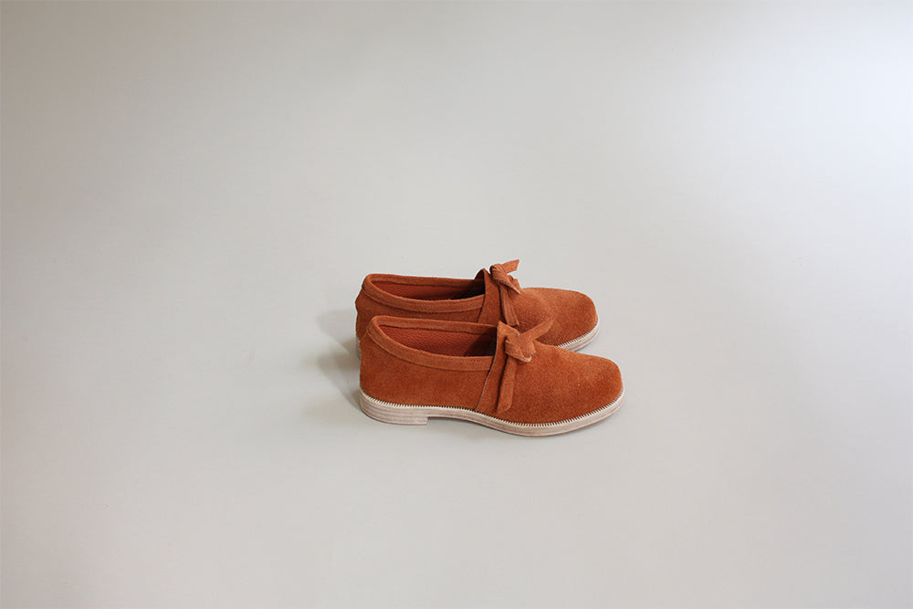 Knotted Shoe - Terracotta