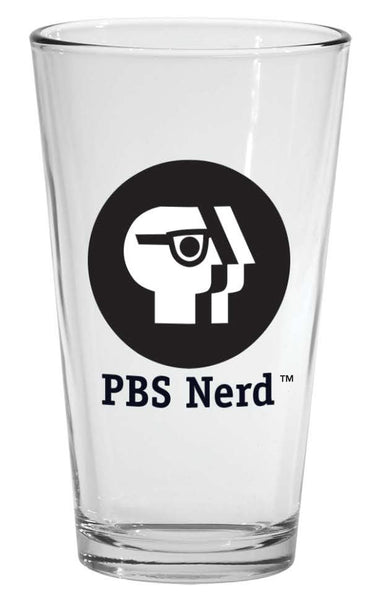 PBS Nerd Pint Glass