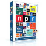 NPR Podcast Tiles 1,000 Piece Jigsaw Puzzle