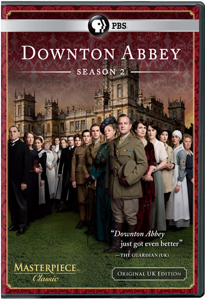 Downton Abbey Season 2 (3-DVD Set)