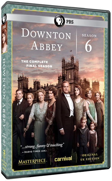 Downton Abbey Season 6 (3-DVD Set)