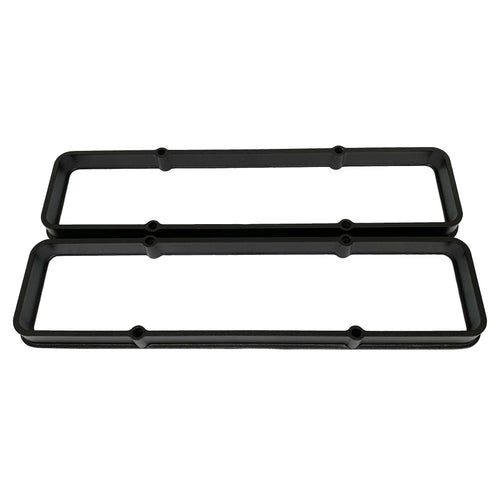 Chevy Small Block Valve Cover Spacers Black Powder Coat