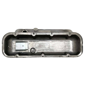 ansen valve covers, chevy big block, classic, polished, underside view