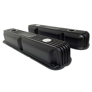Mopar Performance 318, 340, 360 Valve Covers Finned Black