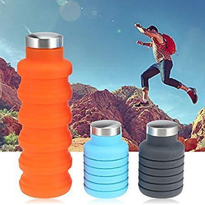 Silicone Expandable & Foldable Water Bottle