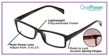 Load image into Gallery viewer, Autofocus Eyewear - One Power Readers