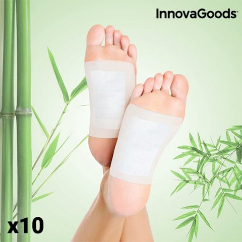 Detox Foot Patches (Pack of 10)