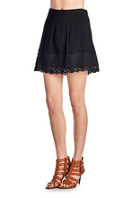 Load image into Gallery viewer, Women's A-Line Crochet Skirt