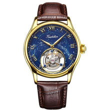Load image into Gallery viewer, 100% Real Tourbillon Men Watch Top Quality Real Tourbillon Clock Men Sapphire Hand Wind Mechanical Watch Relogio Masculino