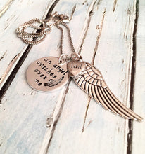 Load image into Gallery viewer, Urn necklace - Hand stamped necklace - Loss