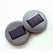 Load image into Gallery viewer, Solar LED Car Cup Holder Bottom Pad