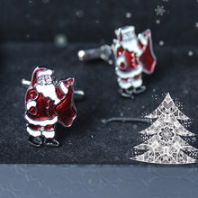 Load image into Gallery viewer, Santa Claus Cufflinks