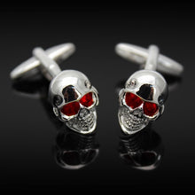 Load image into Gallery viewer, Skull Cufflinks