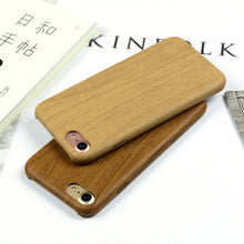 Load image into Gallery viewer, Wood Grain iPhone Case