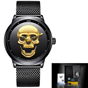 2018LIGE Mens Watches Top Brand Luxury Mens Military Sports