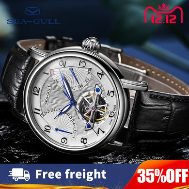 2019 New Products Seagull Watches luxury Men's automatic mechanical watch High Brand 50m waterproofing Bracelet Men's Sports