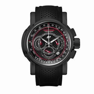 2019 Reef Tiger/RT Designer Sport Watches for Men Rose Gold Quartz Watch with Chronograph and Date reloj hombre RGA3063