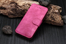 Load image into Gallery viewer, Pink iPhone Wallet Case
