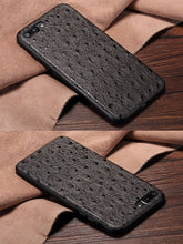 Load image into Gallery viewer, Ostrich Skin iPhone Case