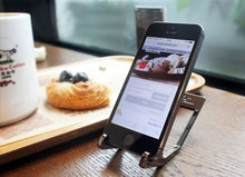 Load image into Gallery viewer, Tungsten Steel Phone Stand