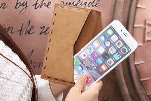 Smart Phone Leather Envelope