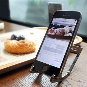 Tungsten Steel Phone Stand