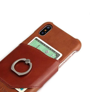 Smart Ring iPhone X Card Case
