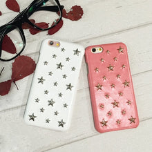 Load image into Gallery viewer, Studded Stars iPhone Case