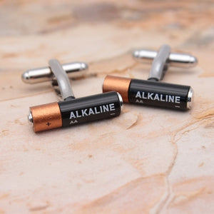 Mini Battery Cufflinks
