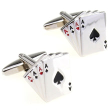 Load image into Gallery viewer, Poker Cufflinks