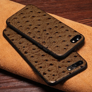 Ostrich Skin iPhone Case