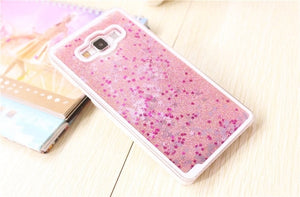 Pink Quicksand Phone Case For Samsung
