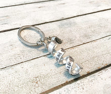 Load image into Gallery viewer, Secret message keychain - Fortune cookie keychain
