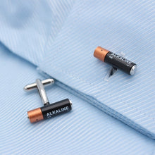 Load image into Gallery viewer, Mini Battery Cufflinks