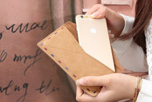 Load image into Gallery viewer, Smart Phone Leather Envelope