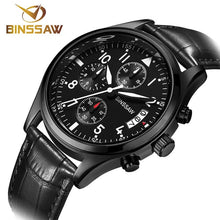 Load image into Gallery viewer, BINSSAW Men Luxury Quartz Watch Brand New Stainless Steel Business Casual Waterproof Luminous Sports Watches Relogio Masculino