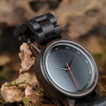 Load image into Gallery viewer, BOBO BIRD Wood Watch Men Relogio Masculino