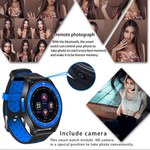 Beseneur Bluetooth Smart Watch R10 Support SIM Card Camera