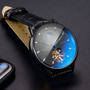 Bestdon Luxury Mechanical Watch Men Automatic Tourbillon Sports Watches Mens Fashion Switzerland Brand Watch Relogio Masculino