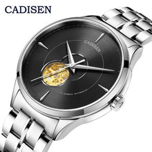 Load image into Gallery viewer, CADISEN men's watches/mens watches top brand luxury watch men automatic mechanical watch men  Skeleton tourbillon watch MIYOTA