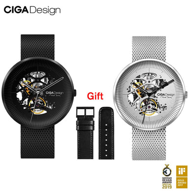 CIGA Design CIGA Watch Mechanical Watch MY Series Automatic Hollow Mechanical Watch Men's FASION Watch
