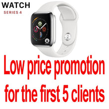 Load image into Gallery viewer, ECG Smart Watch for Men Women Support Bluetooth Call Heart Rate Pedometer Smartwatch For Apple Watch Series 4 IWO 10