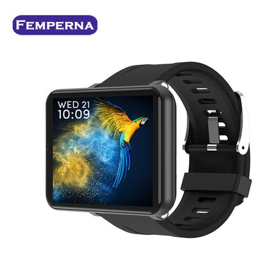 Femperna LEMT Smart Watch Men 4G IP67 3GB+32GB Heart Rate Test Step Smart Watch Women for Independent Card Call