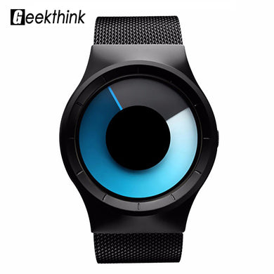 Geekthink 6200 Quartz Watch Men Stainless Steel Mens Watches Top Brand Luxury Women Male female Gifts Clock Unisex Wristwatch