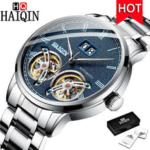 Load image into Gallery viewer, HAIQIN Men's Watches Automatic/Mechanical/Waterproof/Sports/Gold/Military/Watch Men Top Brand Luxury Business Relogio Masculino