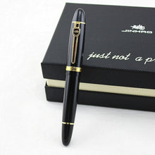 Load image into Gallery viewer, High Quality Luxury JINHAO 159 Fountain Pen Metal 0.5MM Medium Nib Ink Pens Business School Office Supplies Canetas